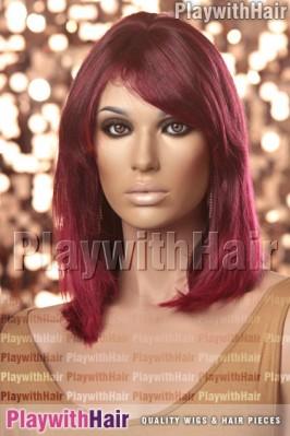 Sepia - Pat Human Hair Wig