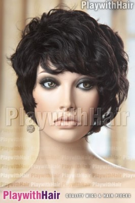 Sepia - Salt Human Hair Wig