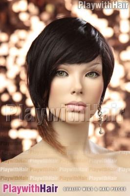 Sepia - Trinity Human Hair Wig
