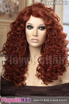 Sepia - Karina Heat Friendly Synthetic Wig