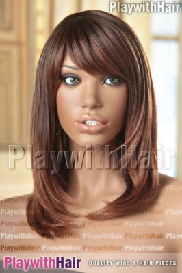 Sepia - Kiley Heat Friendly Synthetic Wig