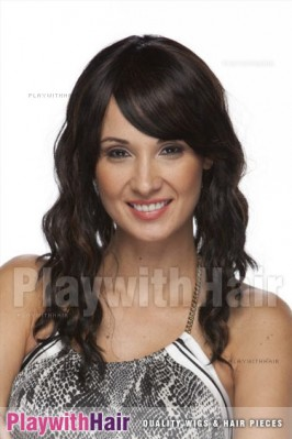Sepia - Blossom Lace Front Synthetic Wig