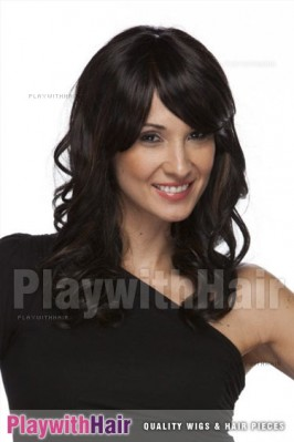 Sepia - Casey Lace Front Synthetic Wig