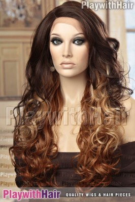 Sepia - Chicago Lace Front Synthetic Wig
