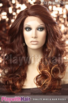 Sepia - Denver Lace Front Synthetic Wig