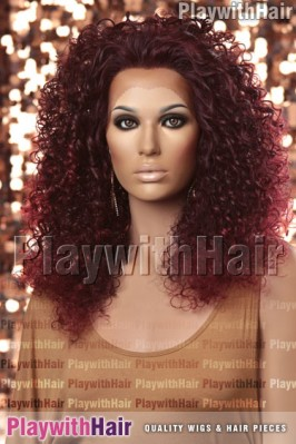 Sepia - Erin Lace Front Synthetic Wig