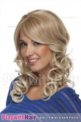 Sepia - Fame Lace Front Synthetic Wig