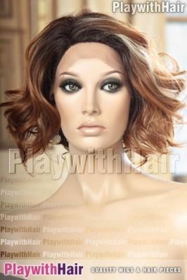 Sepia - Gianna Heat Friendly Synthetic Wig