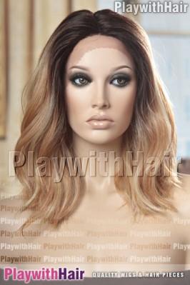 Sepia - Hattie Heat Friendly Synthetic Wig