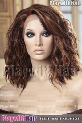 Sepia - Hazel Heat Friendly Synthetic Wig