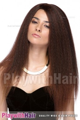 Sepia - Lotti Heat Friendly Synthetic Wig