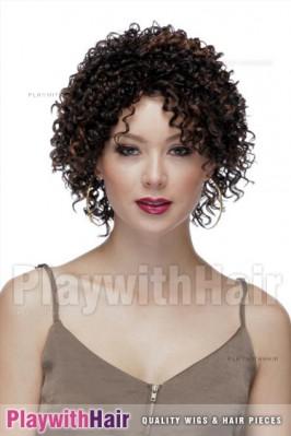 Sepia - Monique Lace Front Synthetic Wig
