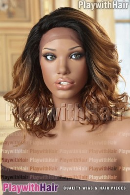 Sepia - Raina Heat Friendly Synthetic Wig