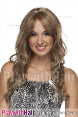 Sepia - Tease Lace Front Synthetic Wig