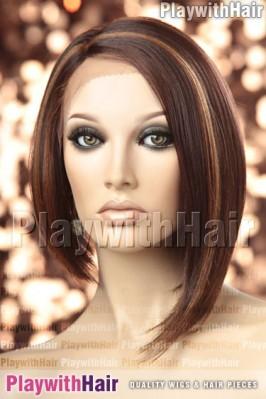 Sepia - Virginia Heat Friendly Synthetic Wig