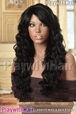 Sepia - Lulu Heat Friendly Synthetic Wig