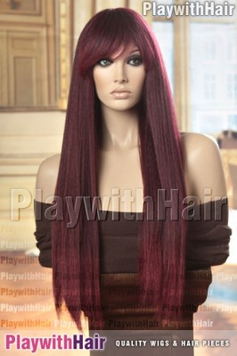 Sepia - Mirage Heat Friendly Synthetic Wig