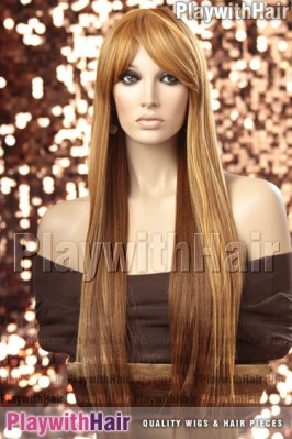 Sepia - Nashville Heat Friendly Synthetic Wig
