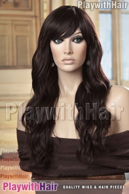 Sepia - Ophelia Heat Friendly Synthetic Wig