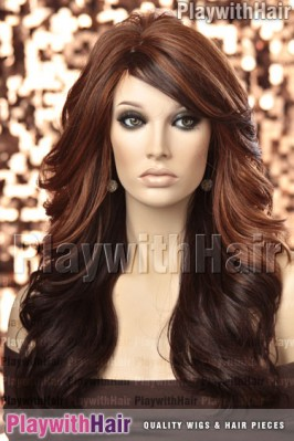 Sepia - Phoenix Heat Friendly Synthetic Wig