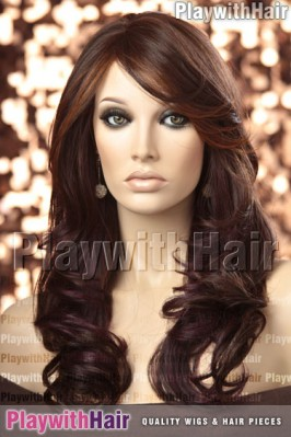 Sepia - Purity Heat Friendly Synthetic Wig