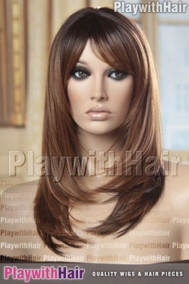 Sepia - Romantic Heat Friendly Synthetic Wig