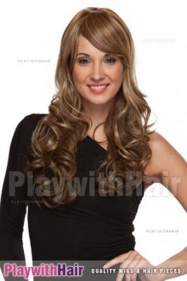 Sepia - Vegas Synthetic Wig