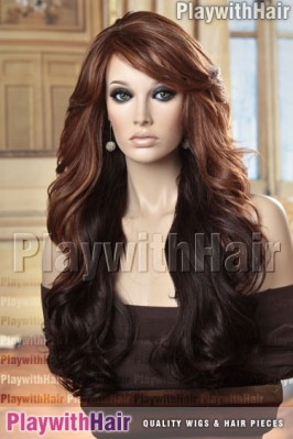 Sepia - Vienna Heat Friendly Synthetic Wig