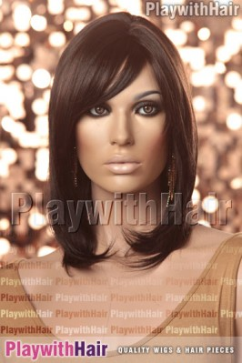 Sepia - Violet Synthetic Wig