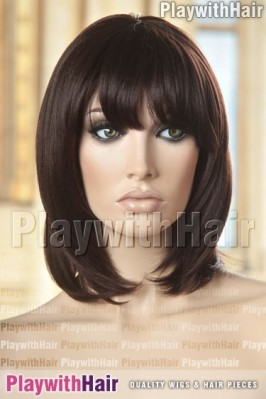 Sepia - Wendy Heat Friendly Synthetic Wig