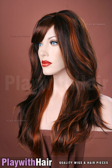 h4/fred Dark Brown Red