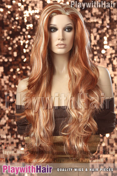 hfr/613 Vivid Red Blonde Mix