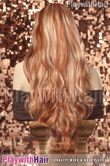 hfr/613 Vivid Red Blonde Mix