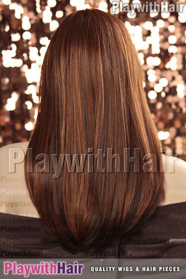 132h Auburn Brown Copper Blend