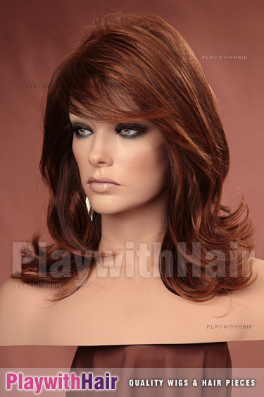 132h Auburn Brown Copper Blend