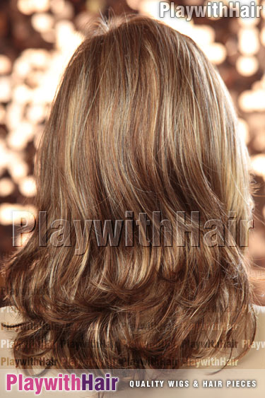 8/27/33h Unique Brown Blonde Mix