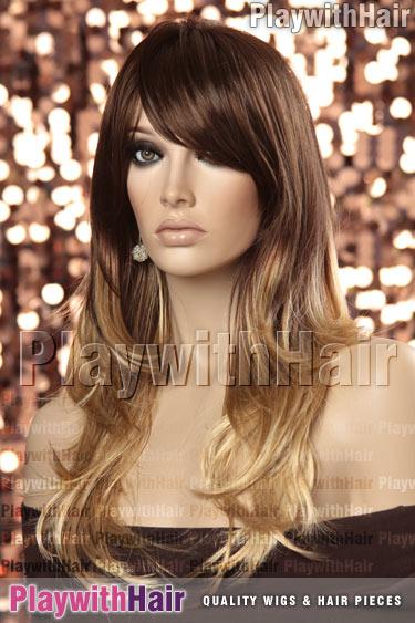 carameltwist Brown Golden Blonde Tip