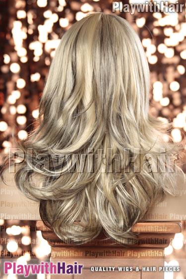 vanillaswirl Blonde & Black Swirl