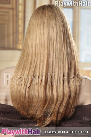 14/26s10 2Tone Soft Blonde Mix DARKER ROOTS!