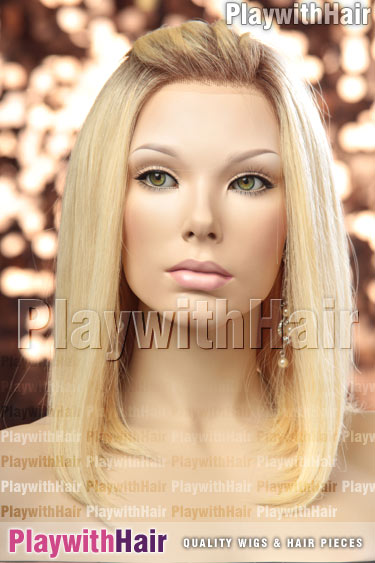 613/102s8 Pale Platinum Blonde REGROWTH Roots