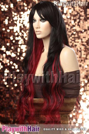 tf1b/burgundy Black On Red STACKED