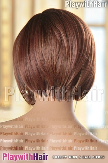 som7013 Highlighted Auburn Brown Roots