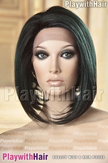 523 Soft Black Green Emerald Mix