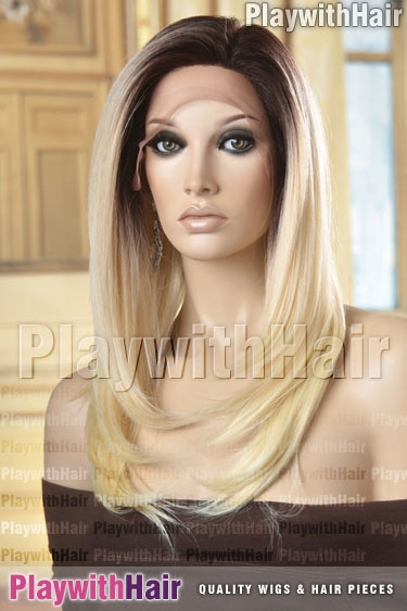 tt4/613 Platinum Blonde Brown Regrowth