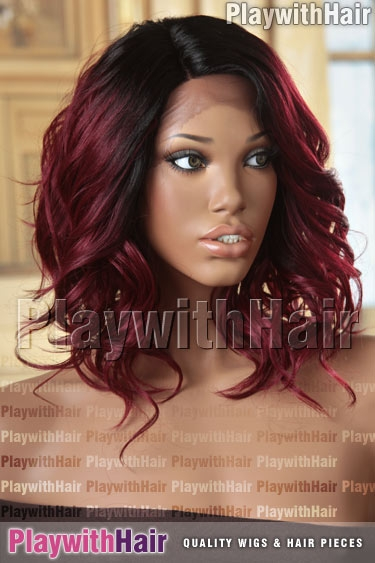 tt1b/118 Bold Red Black Regrowth