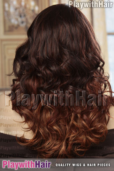om23033 Ombre Balayage Black Brown